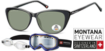 Montana - (Polarized) Sunglasses - Ski - Swimming Goggles